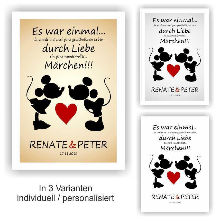 Valentinstag Hochzeitstag Jahrestag Geschenk Bild Liebe Freund Freundin Partner