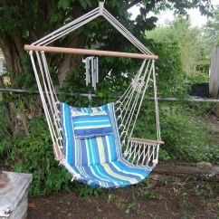 Hammock Chair Instructions Animal Print Parsons Chairs How To Make A Rope Ebay