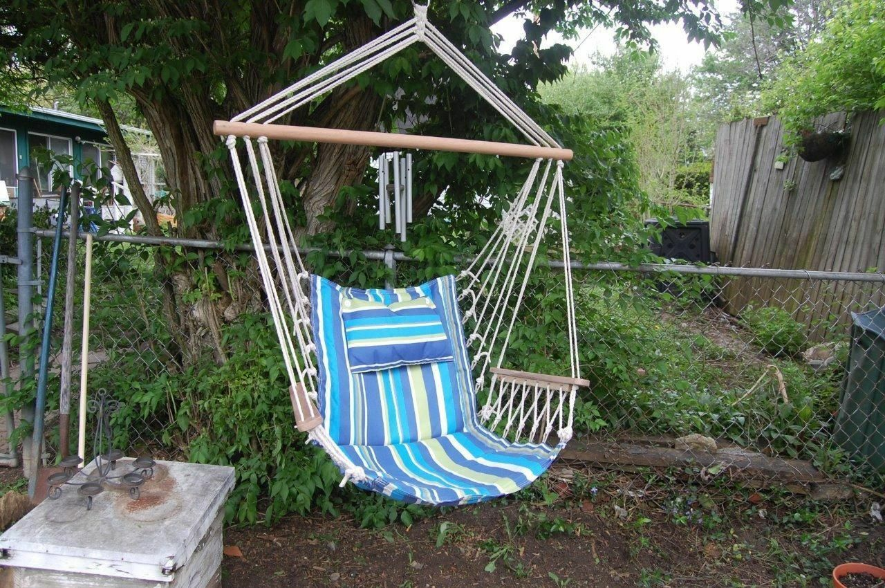How To Make A Hammock Chair How To Make A Rope Hammock Chair Ebay