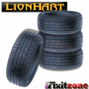 4 Lionhart LH-503 235/50ZR18 101W XL All Season High Performance Tires 235/50/18