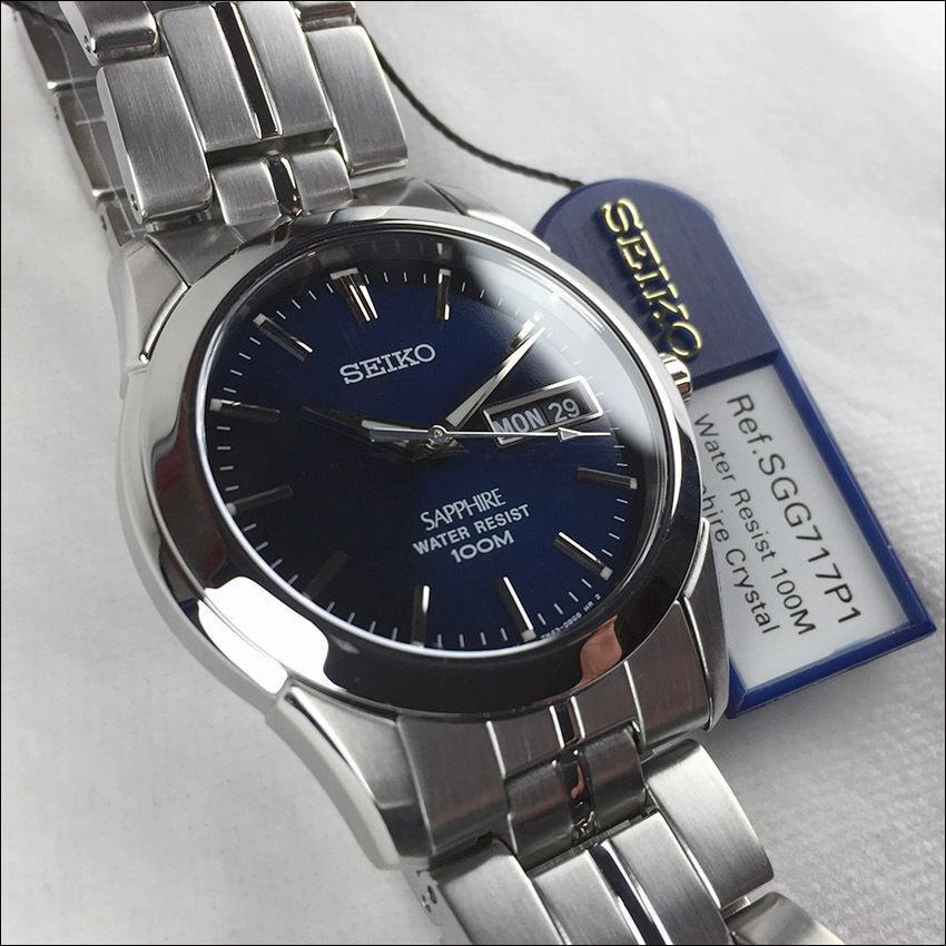 Seiko Sapphire SGG717P1 DayDate Unisex SGG717  in
