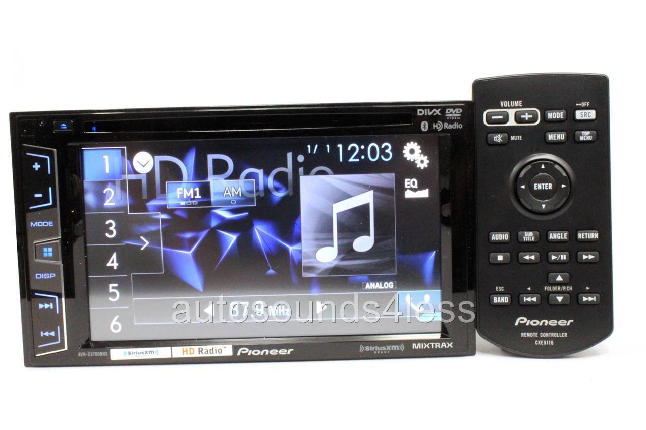 pioneer avh radio ausschalten 6 wire trailer wiring diagram x3700bhs dvd player bluetooth sirius xm hd
