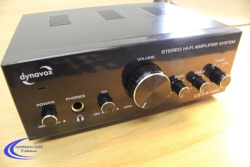 Dynavox CS-PA1 MK Mini Hifi Verstärker 2x50W schwarz + mit Kopfhörer Verstärker