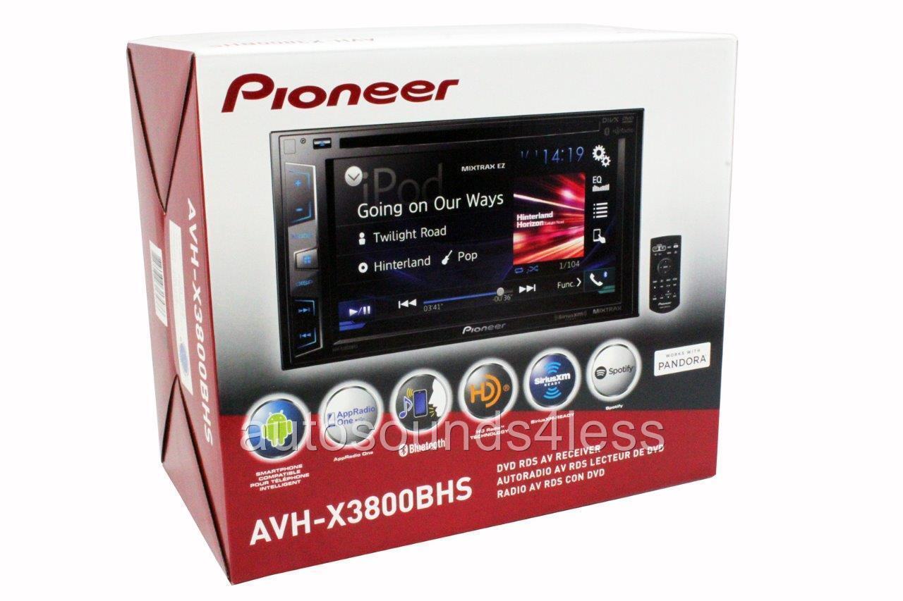 pioneer avh gps add on ford wiring diagram distributor יחידות הוידאו במקף ללא x3800bhs dvd mp3