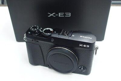 Fujifilm X-E3 Gehäuse / Body gebraucht sehr guter Zustand in ovp XE3