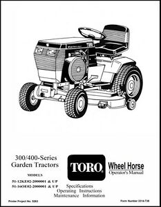 Wheel-Horse-300-400-Series-Tractor-416-312-3314-738