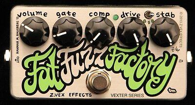 Z.Vex Effects Vexter Fat Fuzz Factory Effects Pedal New