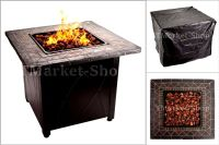 30,000 BTU Blue Rhino Outdoor Propane Gas Fire Pit Lava ...