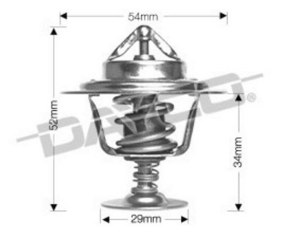 Thermostat for Holden Captiva Z20S1 Mar 2007 to Jan 2011