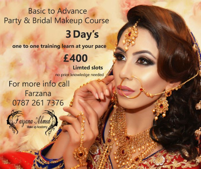 asian bridal makeup & hair artist m: 07872617376 | in