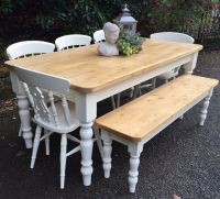 pine table and benches - 28 images - pine bench at 1stdibs ...