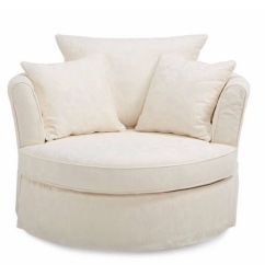 Swivel Chair Uk Gumtree Quality Directors Chairs Large Cream With Matching Half Moon Footstool