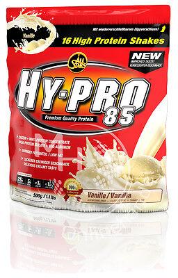 All Stars Hy-Pro 85 (35,98€/Kg)+ DELUXE 500g Eiweiss Protein Shake !Ab 2 +BONUS