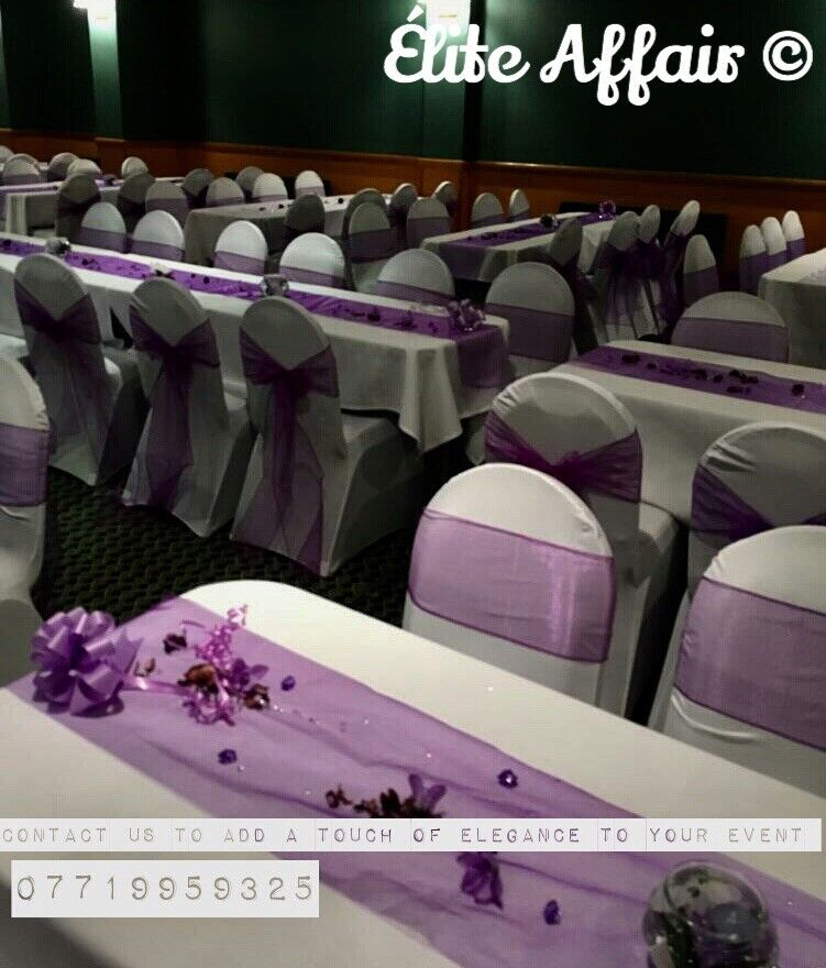 chair cover hire in birmingham dining captain chairs event dressing for all occasions west midlands gumtree