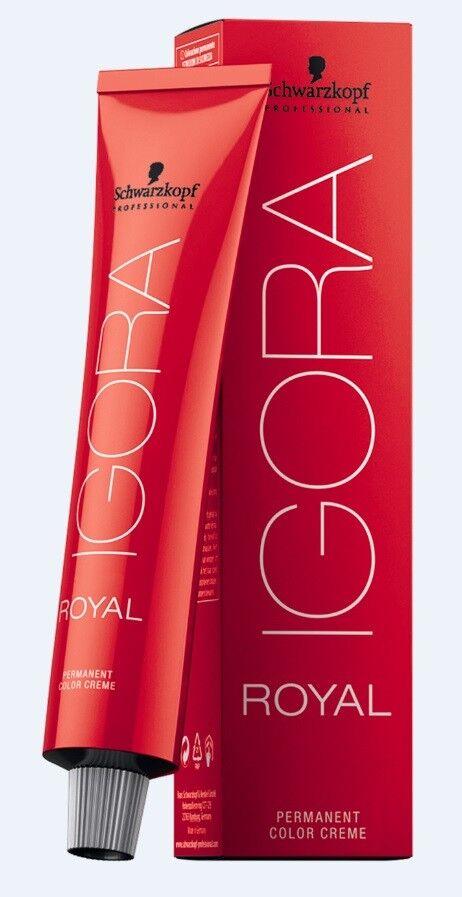 Schwarzkopf Igora Royal Haarfarbe 60ml Nuancen frei wählbar Auktion 1