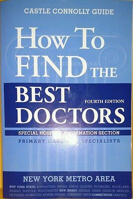 How to Find the Best Doctors : New York Metro Area 1999, Paperback, Revised Used