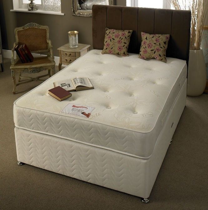 Brand New Double Divan Base With 1000 Pocket Sprung Mattress Best Ing