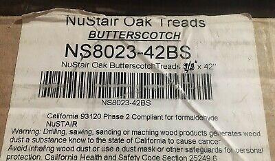 Nustar Ns8023 42Bs Oak Butterscotch Retro Stair Tread 12 X 1 2 X   Oak Retro Stair Treads   Red Oak   White Oak   Engineered Wood   Nosing   Hardwood