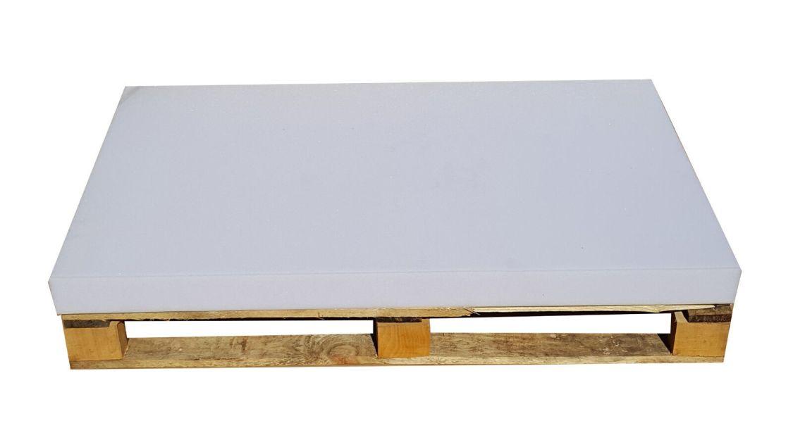 Schaumstoffplatte 120x80 Europalette Palettenkissen Polster Zuschnitt Matratze