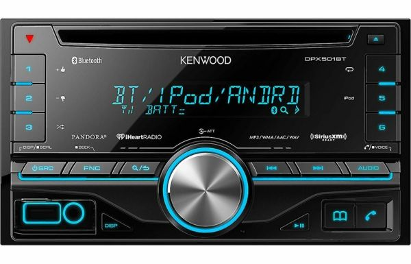 Kenwood Double Din Car Stereo