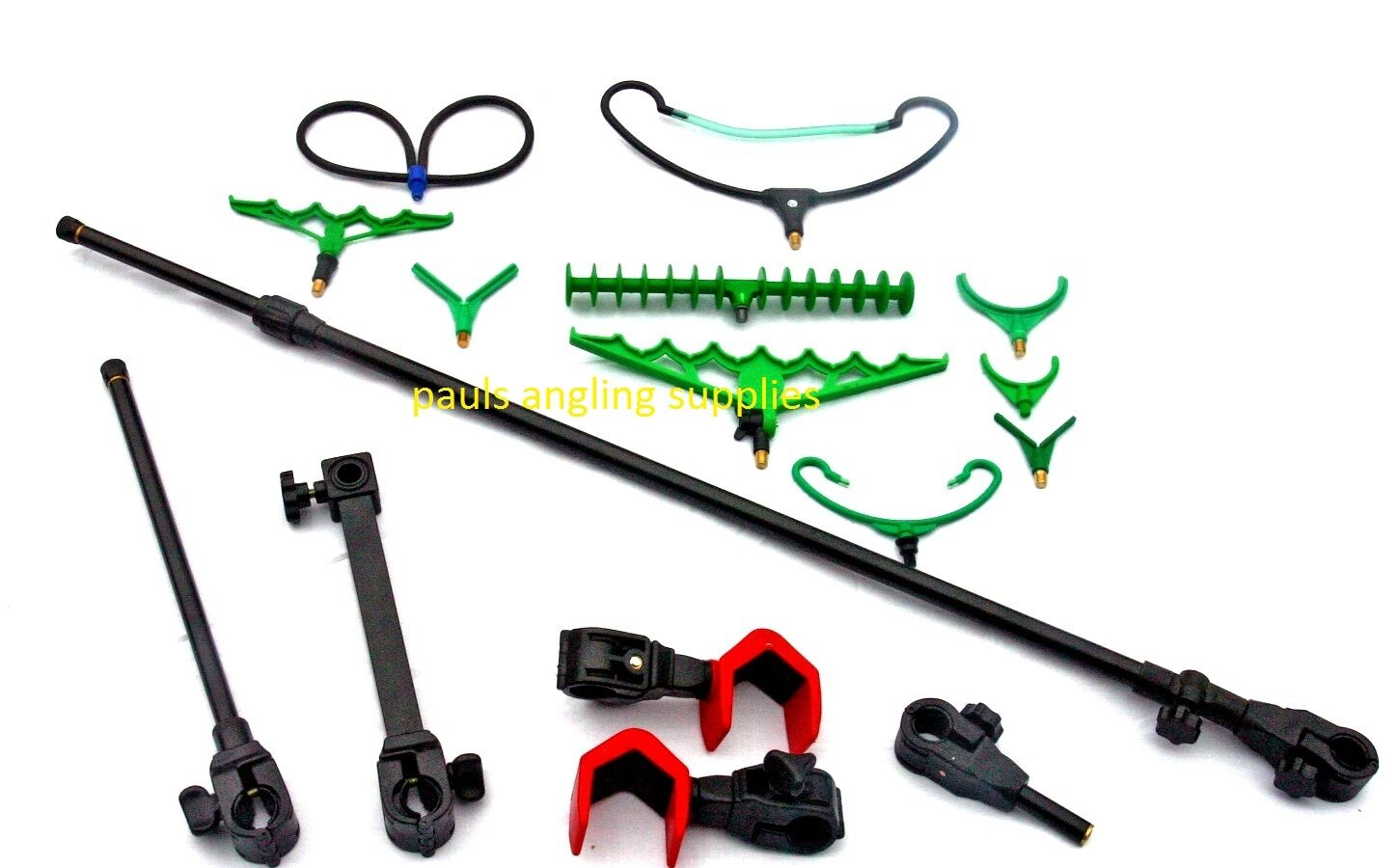 universal fishing chair attachments ergonomic melbourne arm pole hooks rest and accessory