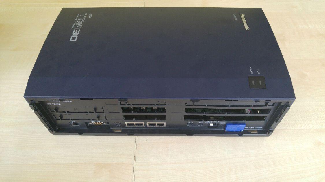 PANASONIC KX-TDA30NE / V5.01 / TELEFONANLAGE / PBX / DLC / SLC / ISDN / DHLC