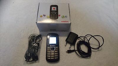 Vodafone 255 Handy schwarz Farbdisplay ohne Simlock Dualband Barrenhandy ZTE