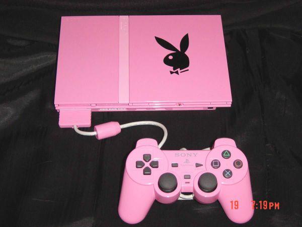 Playboy Pink Sony PlayStation 2 Slim Pink Console eBay