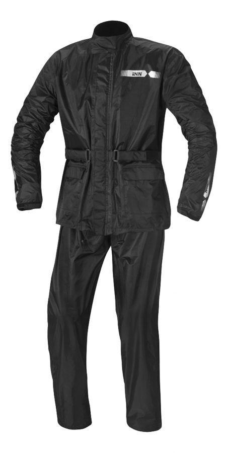 IXS Horton II Motorrad Regenkombi Regenanzug Regenbekleidung Regenschutz schwarz