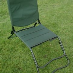 Fishing Chair Uk Outdoor Dining Cushions Set Of 4 Fox Adjusta Barbel Fold Up Seat