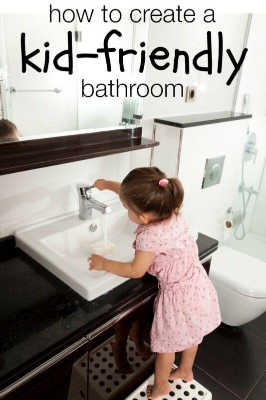 child friendly bathroom 6 Ways to Make Your Bathroom More Kid-Friendly   eBay