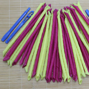 10pcs narrow long hair curlers curlformers spiral ringlets perm leverage rollers ebay