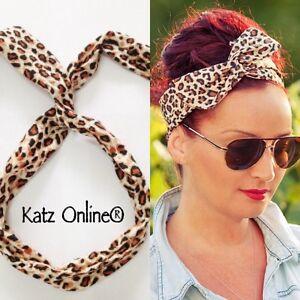 animal print headband clothes