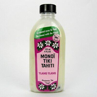 (9,13/100ml) Monoi Tiki Tahiti Körperöl Massageöl Ylang Ylang 120 ml