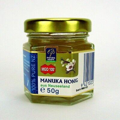 (14,50/100g) Manuka Health Honig Manukahonig MGO 100+ UMF 10+ 50 g