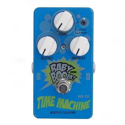 Biyang AD10 Time Machine Guitar Analogue Delay Effects Pedal