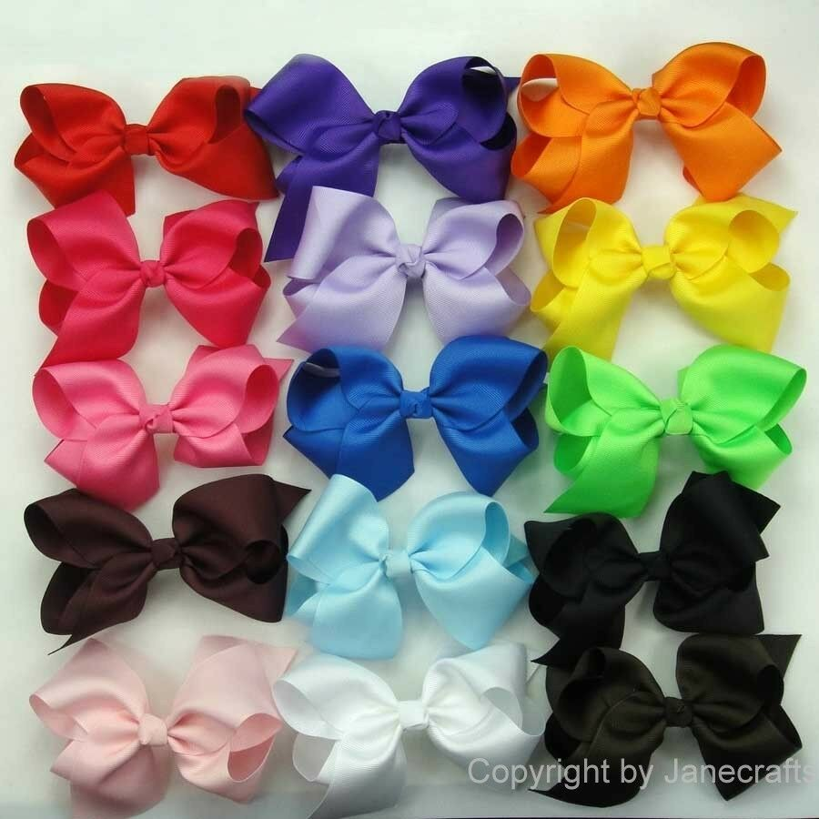 handmade hair bows girls baby