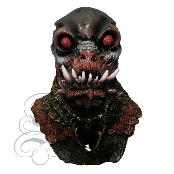 Halloween Latex Horror Alien Mutant Monster Creature Fancy