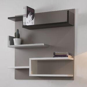 Libreria Moderna con Schienale Myshelf Mensole Cameretta