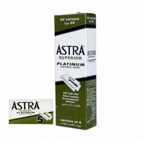 Astra Rasierklingen Ersatzklingen Superior Platinum 100er Pack - neu & OVP