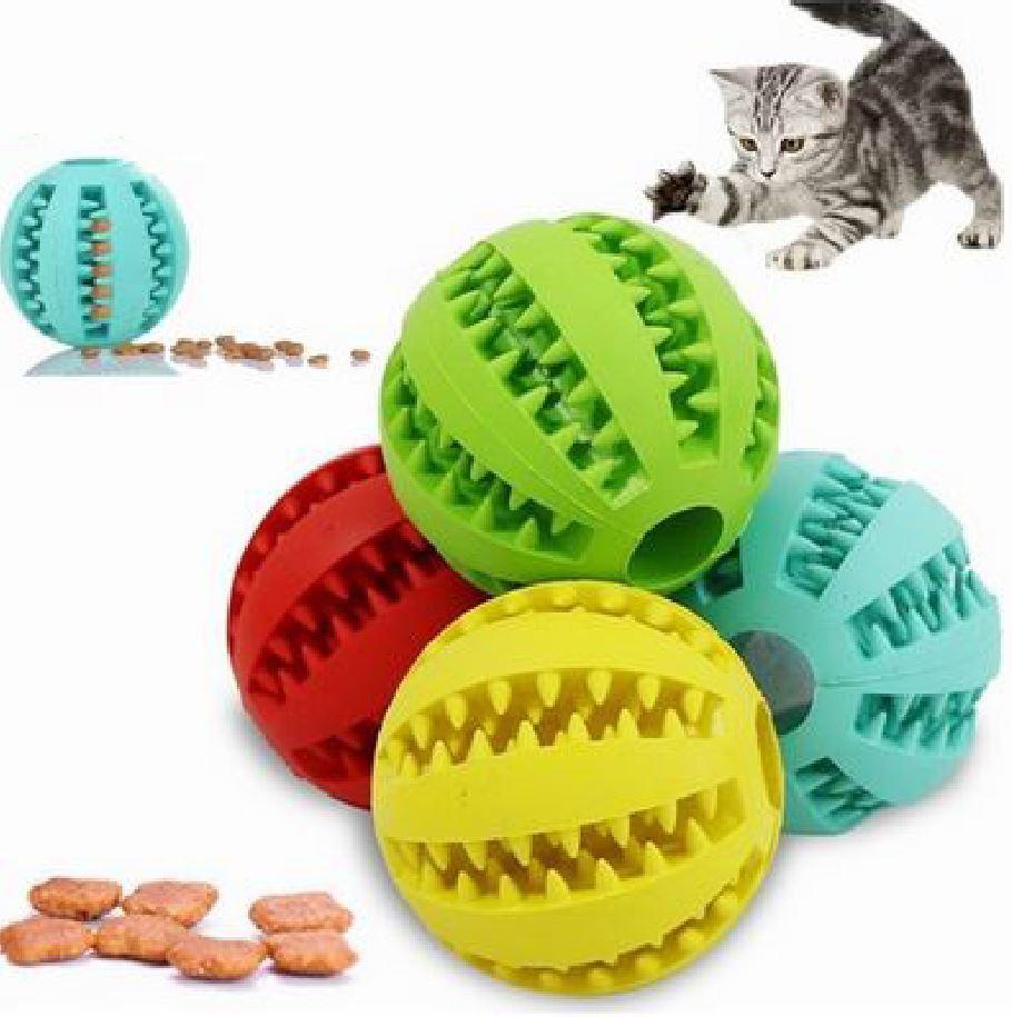 Katzenspielzeug Cat toy Katzenfuttet food ball Futterspender maus spiel training