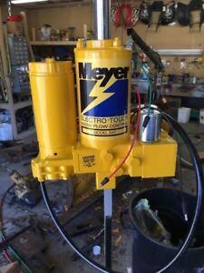 meyer plow pump 99 jeep cherokee sport radio wiring diagram meyers e47 ebay snow e46 e 47 hydraulic sand blasted complete rebuild
