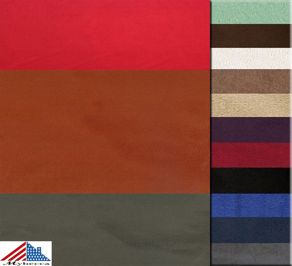 details about microsuede faux suede fashion fabric upholstery 58 60 wide by the yard