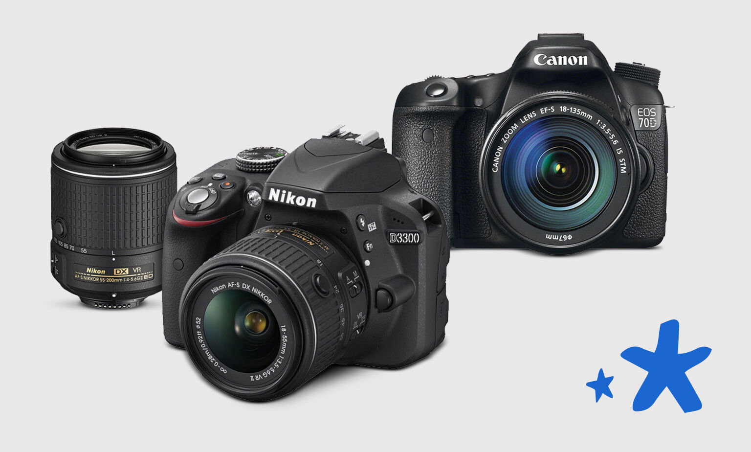 Entry Level Cameras from Canon, Nikon & More