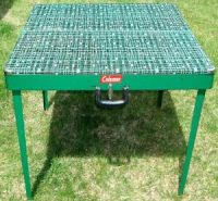 Vintage Coleman Portable Folding Outdoor Camping Table | eBay