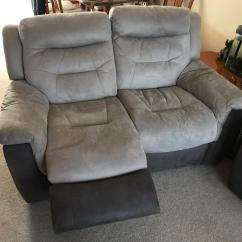 Two Seater Recliner Sofa Gumtree Kuka Hong Kong 2 Electric Dfs Garrick In