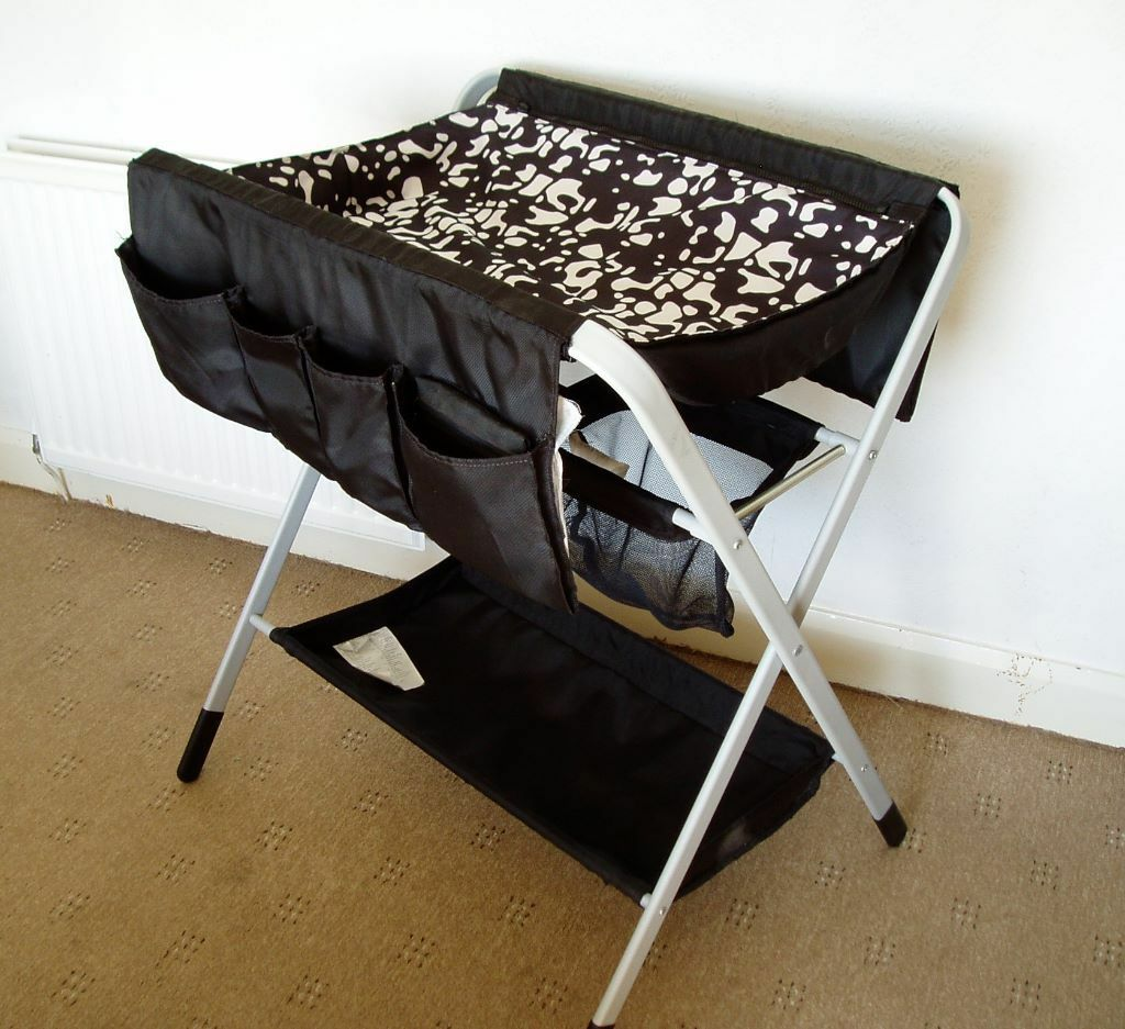 Ikea folding changing table with mat and mat