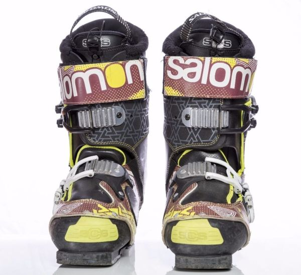 Salomon Spk Pro Model Ski Boot 25 25.5 In Torquay