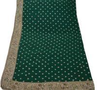 Vintage Silk Paisley Scarf