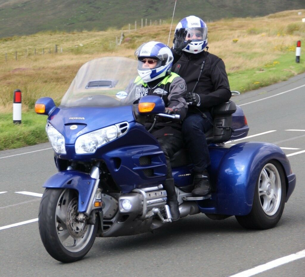 Honda Goldwing Trike GL1800 with Champion Trikes full
